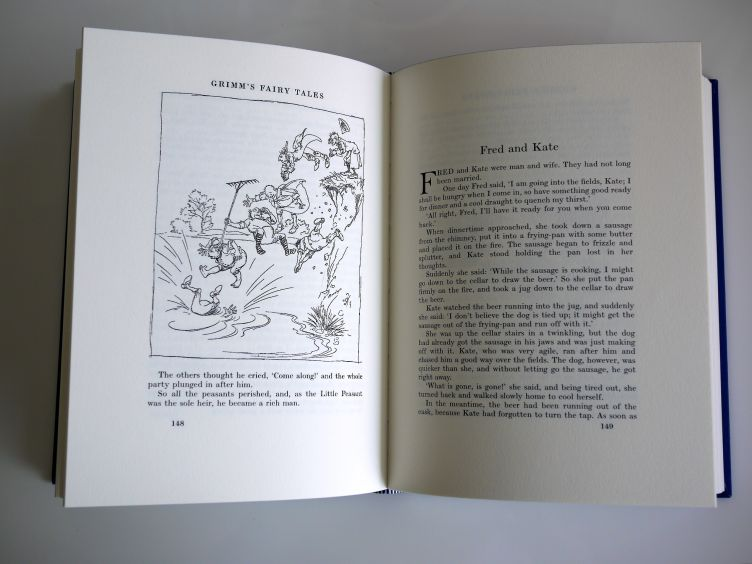 The Fairy Tales of the Brothers Grimm sample illustrations #2.
