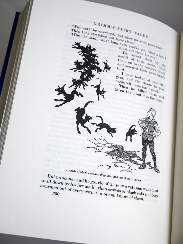 The Fairy Tales of the Brothers Grimm sample illustrations #4.