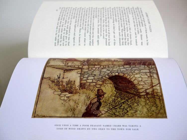 The Fairy Tales of the Brothers Grimm sample illustrations #5.