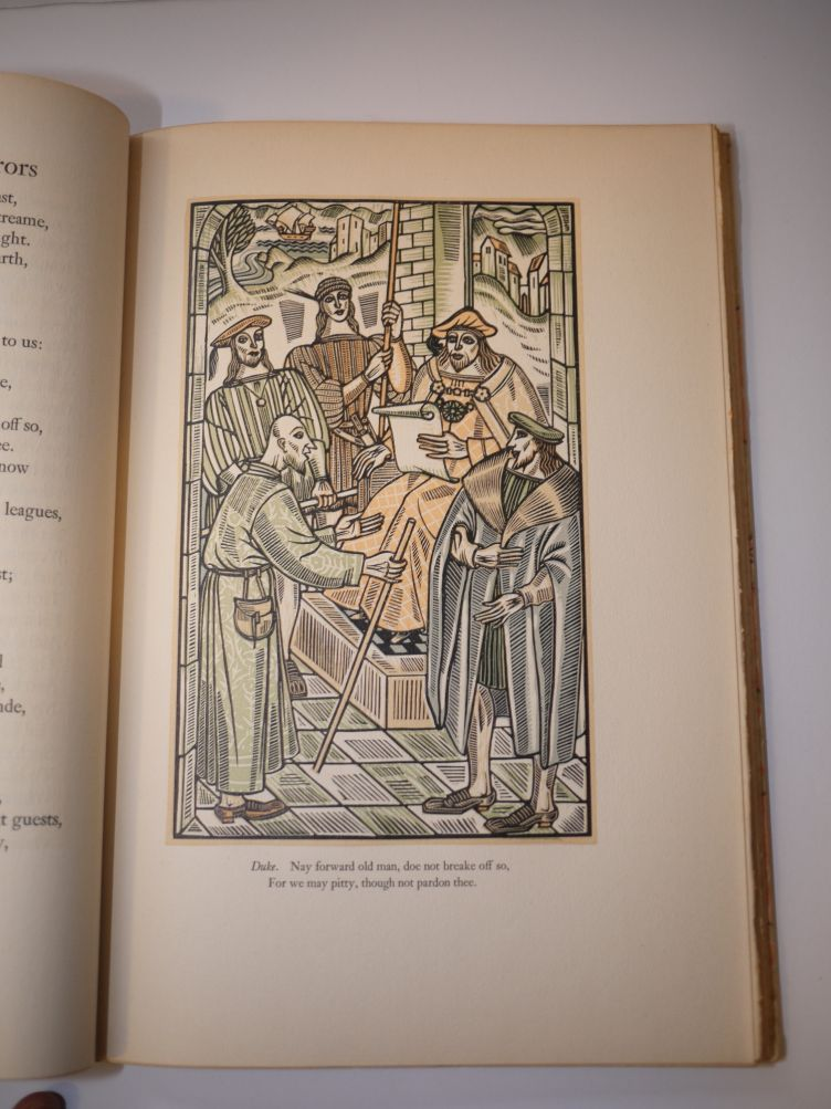 A Comedy of Errors by William Shakespeare with Illustrations by John Austen (1939) illustration #2.