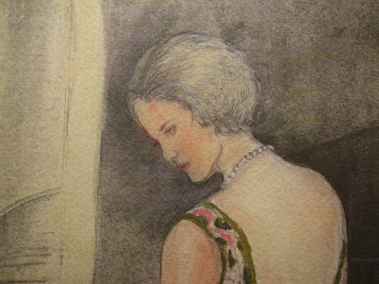 Tennessee with Illustrations by Clarice Smith (2004) close-up of Blanche.
