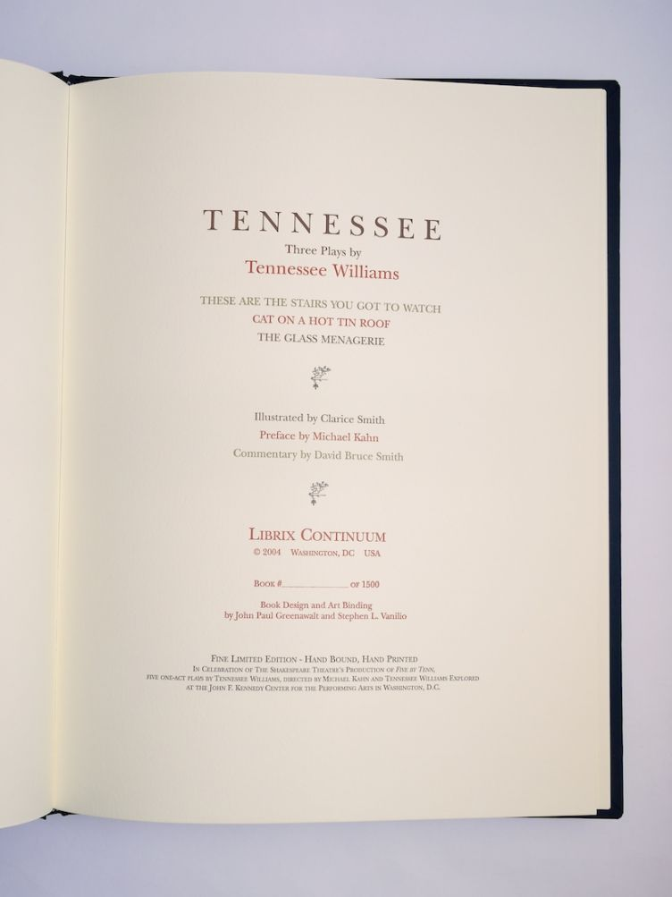 Tennessee with Illustrations by Clarice Smith (2004) title page.