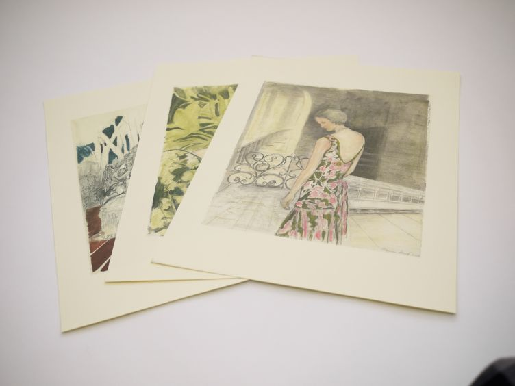 Tennessee with Illustrations by Clarice Smith (2004) the three unbound prints of Blance, Maxine and Alma.