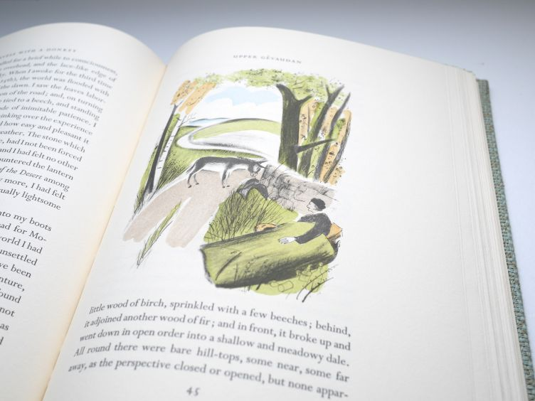 Travels With A Donkey in the Cévennes by Robert Louis Stevenson (1957) sample illustration #5.