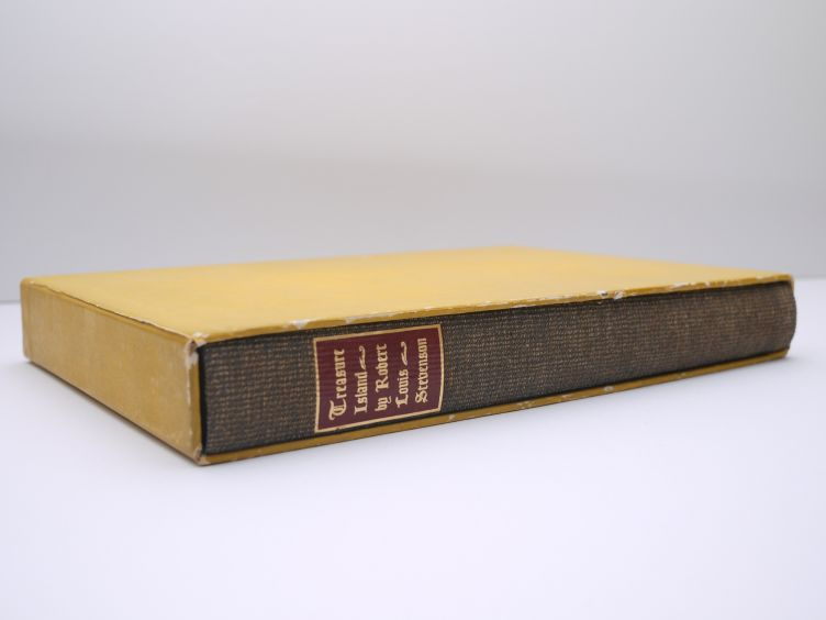 Treasure Island by Robert Louis Stevenson (1941) book in slipcase.