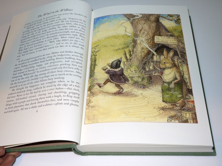 The Wind in the Willows by Kenneth Grahame (2005) sample illustration #2.
