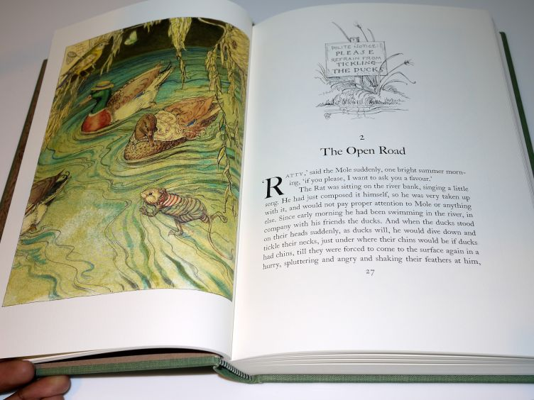 The Wind in the Willows by Kenneth Grahame (2005) sample illustration #4.