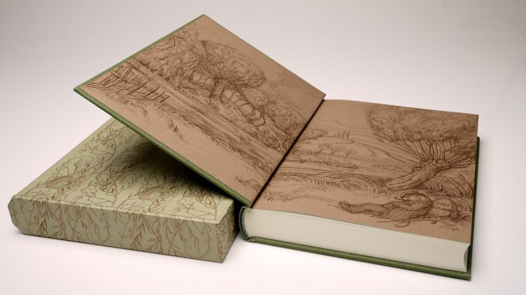 The Wind in the Willows by Kenneth Grahame (2005) illustrated endpapers.