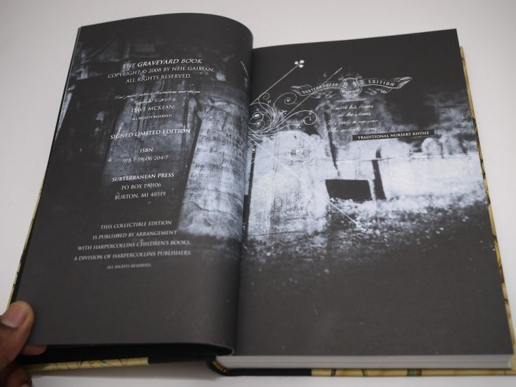The Graveyard Book by Neil Gaiman with illustrations by Dave Mckean (2008) Dave McKean artwork #3.