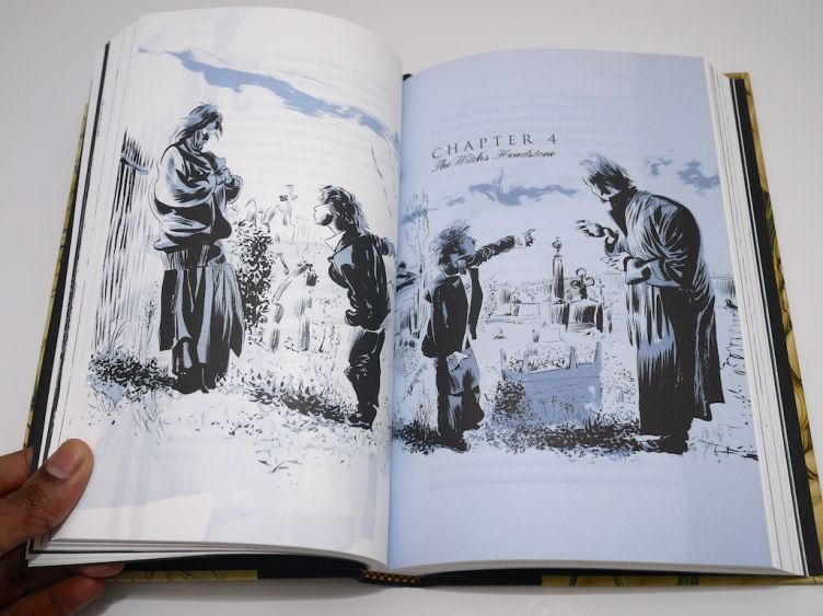 The Graveyard Book by Neil Gaiman with illustrations by Dave Mckean (2008) Dave McKean artwork #5.