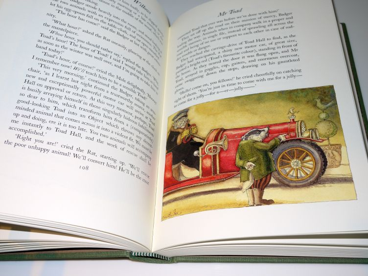 The Wind in the Willows by Kenneth Grahame (2005) sample illustration #6.