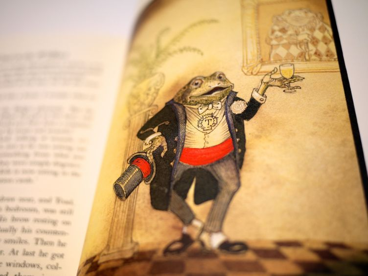 The Wind in the Willows by Kenneth Grahame (2005) sample illustration #8.