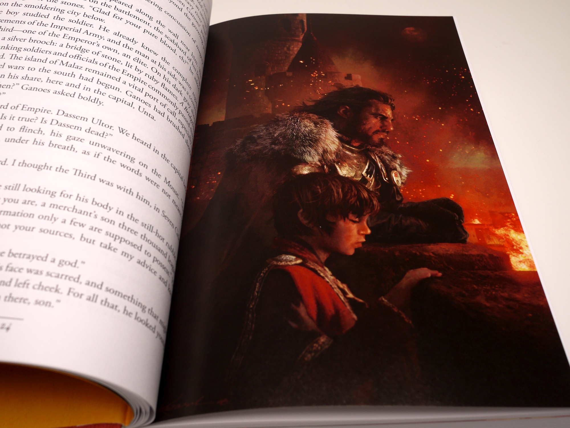 Gardens Of The Moon By Steven Erikson (2009) Illustration #1: Young Ganoes