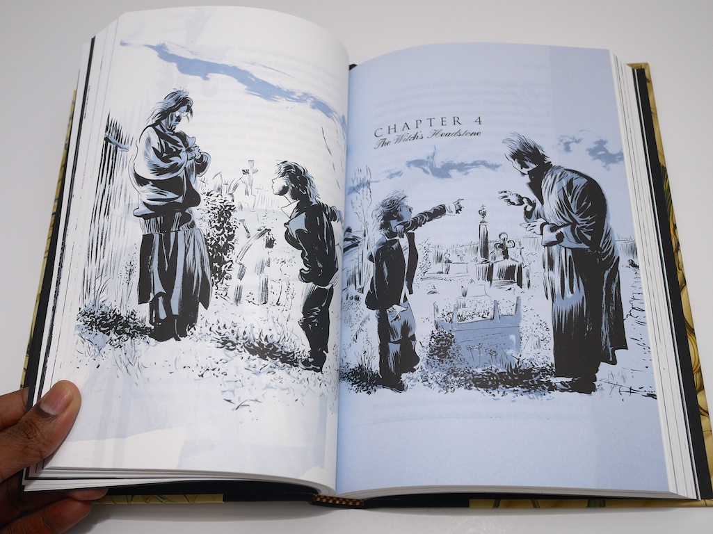 The Graveyard Book by Neil Gaiman with illustrations by Dave ...
