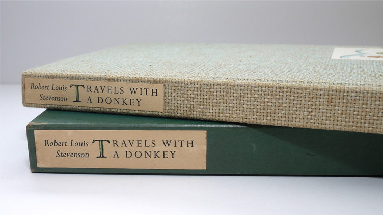 Limited Editions Club Travels with a Donkey by Robert Louis Stevenson