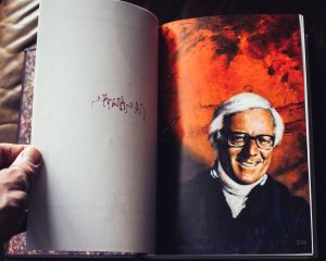 Painting of Ray Bradbury by Edward Miller for Hill House's Martian Chronicles signed limited edition