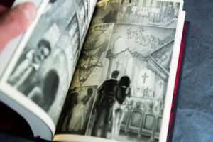 Another selection of artwork from Falling Angel and Angel's Inferno from Centipede Press