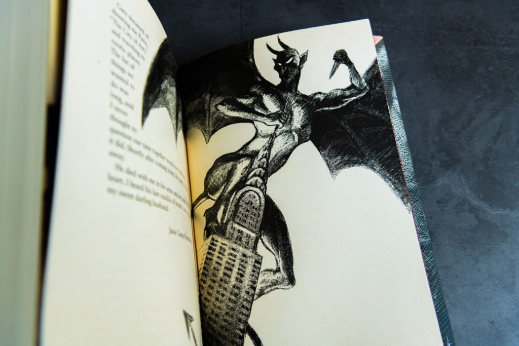 Demon artwork from Angel's Inferno from Centipede Press