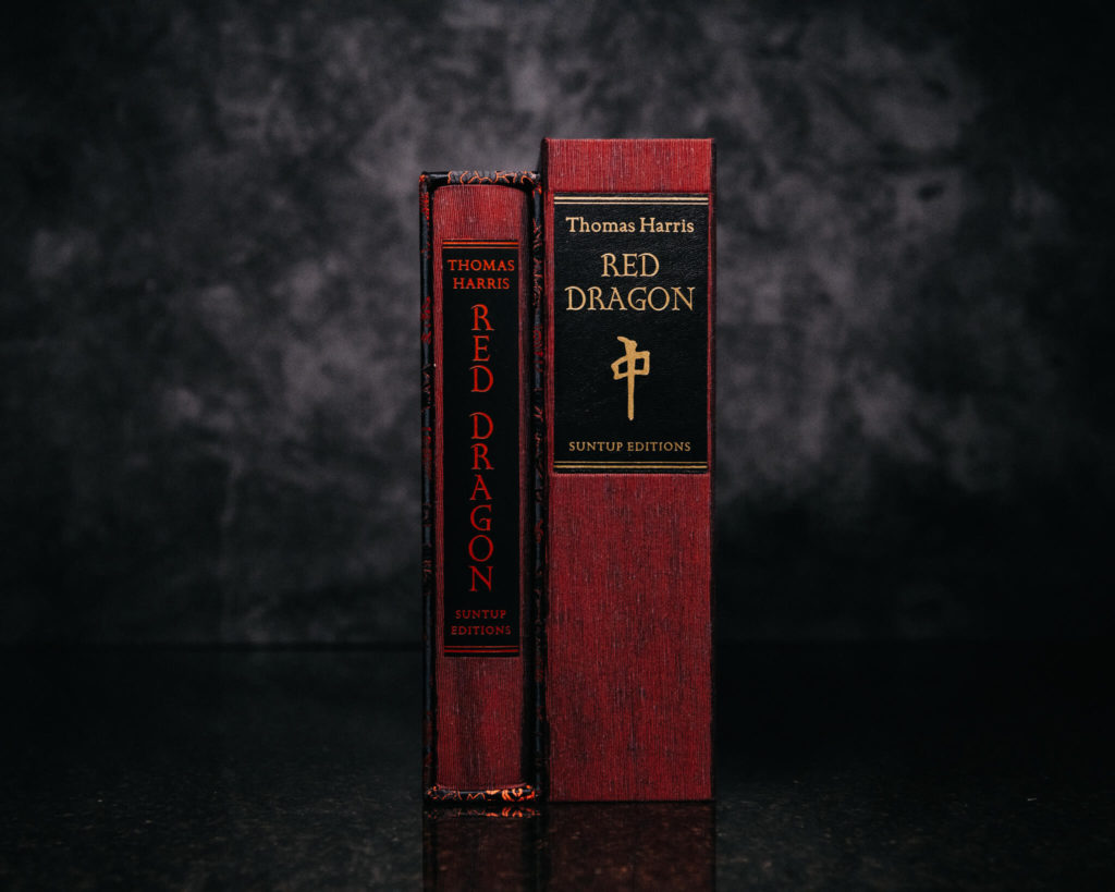 Suntup Press Red Dragon lettered and numbered editions
